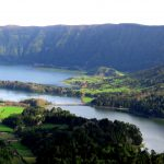 Twin crater lakes, Azores